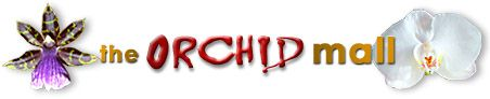 The Orchid Mall logo, orchid photography © IM Vibat
